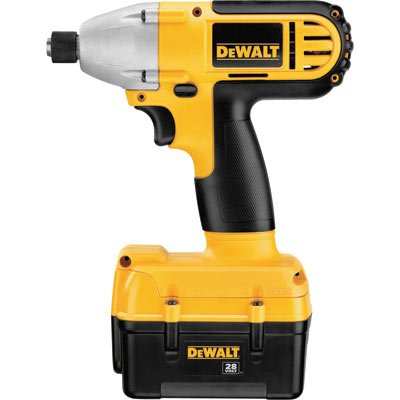 DEWALT DC815KL 28-Volt 1/4-inch Lithium Ion Cordless Impact Driver with NANO Technology