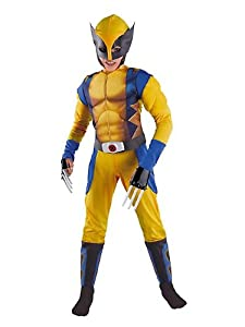 Classic X-Men Wolverine Muscle Kids Costume