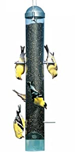 Perky-Pet 398 Patented Deluxe Upside Down Thistle Feeder