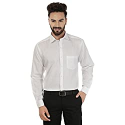 Jainish White Formal Shirt