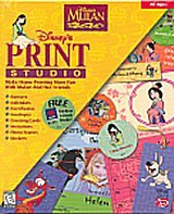 Disneys Mulan Print Studio