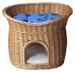 Wicker Cat Bed Canada