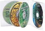 サンワサプライ CD・DVDケース(クリアー) FCD-61C