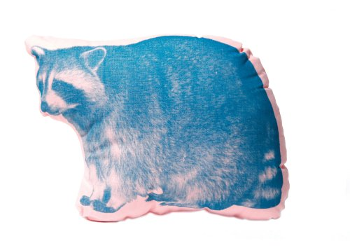 Areaware Raccoon Pillow