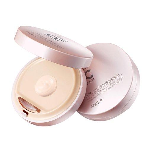 The Face Shop FACE it Aura CC Cream #2 Natural Beige (SPF30/PA++)