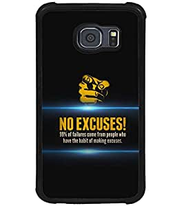 PRINTSWAG QUOTE Designer Back Cover Case for SAMSUNG GALAXY S6