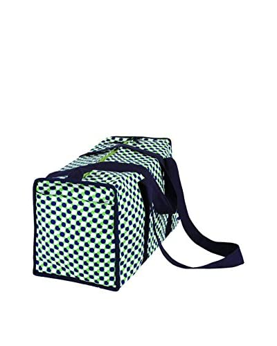 Malabar Bay Mod Dots Duffle Bag, Green