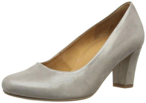 Gabor Womens Cheel Court Shoes 82.180.12 Beige 4 UK, 37 EU