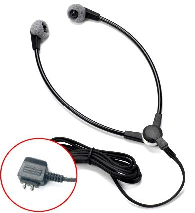 """Dictaphone **Extended-Life**Premium """"Ebs"""" Headset Compatible Universal Wishbone Y-Shaped Style For Transcriber Models 1709, 1720, 1730, 1740, 2710, 2720, 2730, 2740, 2750, 3740, 3750, 3710 And Earlier Models"""