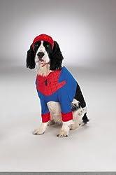 WMU 566930 Small Spiderman Dog Costume from WMU