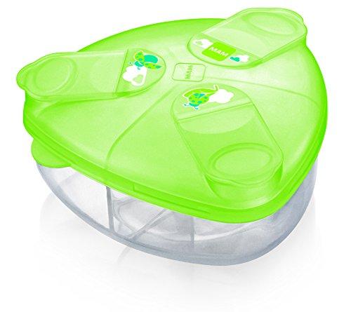 Mam - Contenitore per latte in polvere, colore: Verde