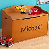 Personalized Toy Box for Boys