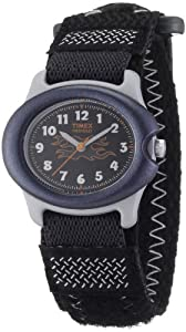 Timex T71291 Kids Indiglo Gray Fast Wrap Strap Watch