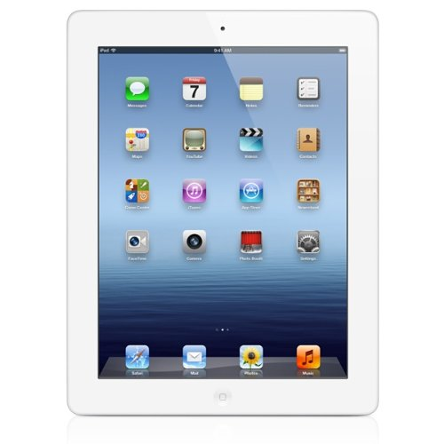 The New Ipad 3rd Generation 16 Gb - AT&T - Wi-fi + Cellular - White