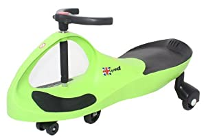 Ukayed ® Amazing Ride on Swing Car New Improved Model (various Colours) (Lime Green)