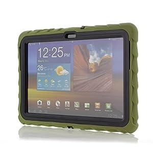 Gumdrop Drop Tech Case for Samsung Galaxy Tab 2 10.1 - Army Green