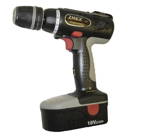 "Znex CI-3182 18.0 Volt 1/2"" (12.7mm) Chuck Size Cordless Drill/Driver Kit"