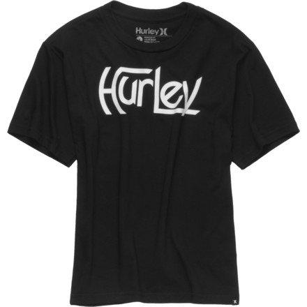 Hurley Original T-Shirt - Short-Sleeve - Boys' Black A, L