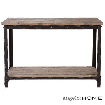 Cheap angelo:HOME Bowery Console Table in Distressed Natural Finish (CK3333)