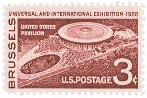 EXPO '58 ~ WORLD'S FAIR IN BRUSSELS BELGIUM