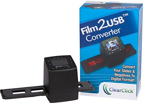ClearClick-Film-To-USB-Converter-35mm-Slide-and-Negative-Scanner-with-23-Color-LCD-2-GB-Memory-Card-Free-USA-Tech-Support