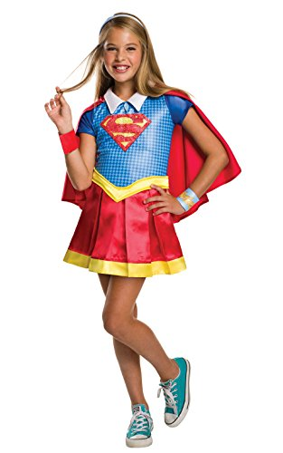 DC Superhero Girls Supergirl Halloween Costume  sc 1 st  Great Gift Ideas : superhero halloween costumes for women  - Germanpascual.Com