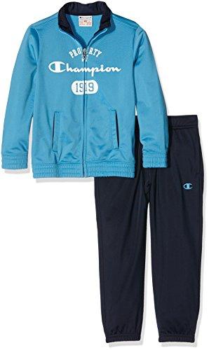 Champion Bambino,  Tuta zip lunga  Auth. Triace,  blu/blu,   XL,   304401_F16