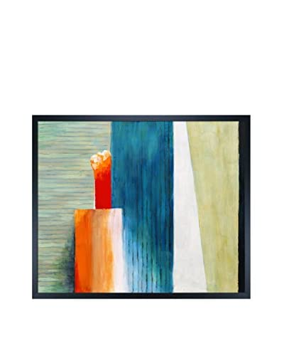 Clive Watts Slats Framed Print On Canvas, Multi, 21.5″ x 25.5″