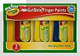 Crayola - My First Washable Finger Paints(3 Colours)