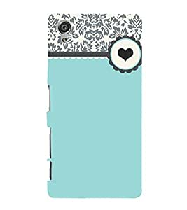 Floral Love Green 3D Hard Polycarbonate Designer Back Case Cover for Sony Xperia X :: Sony Xperia X Dual