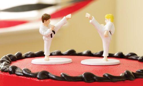 Martial Arts Cake Topper