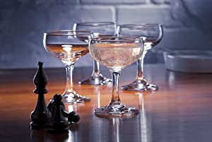Casablanca Champagne Coupe (Set of 4)