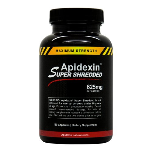 Apidexin Super Shredded - Burn More Fat - Boost Metabolism - Extreme Diet