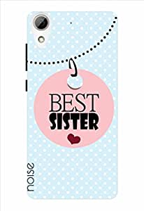 Noise Best Sister-Skyblue Printed Cover for HTC Desire 626G Plus