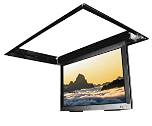 Flp 410 in ceiling flip down motorized tv for Motorized flip down tv mount