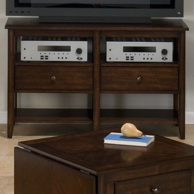 Cheap 48″ TV Stand in Deep and Warm Cherry (354-9)