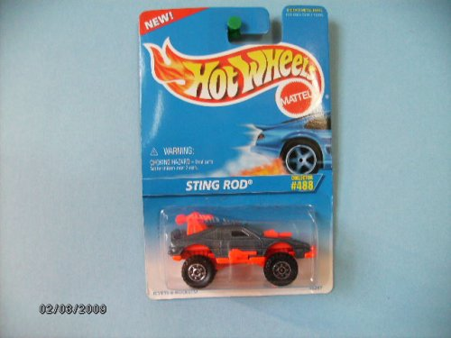 Hot Wheels Sting Rod 1996 Collector #488 - 1