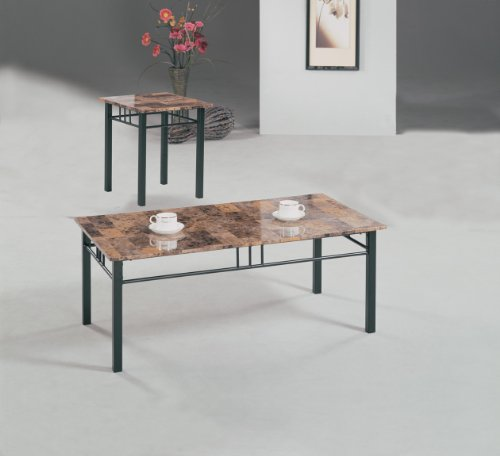 Image of TABLE COFEE END 3 PIECE SET CROSSVILLE COLLECTION (B008W1EFUA)