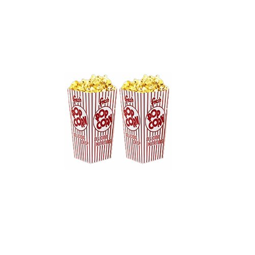 Great Northern Popcorn 100 Movie Theater Popcorn Boxes 32 Ounce Open Top (Popcorn Buckets Great Northern compare prices)