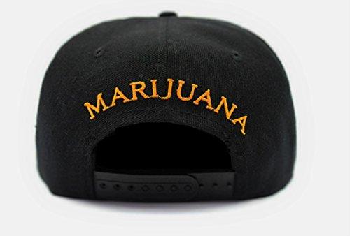 Marijuana-Weed-420-Leaf-3D-Embroidered-Printed-Adjustable-Hat-Snapback