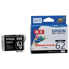 EPSON �����C���N�J�[�g���b�W ICBK62