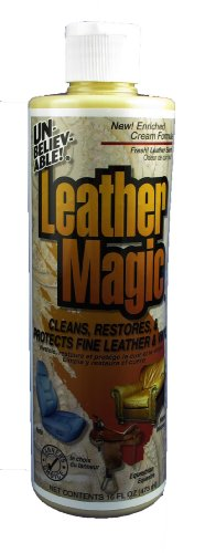 Unbelievable! Ulm-16 16 Oz. Leather Magic Leather & Vinyl Cleaner (Case Of 12) front-418220