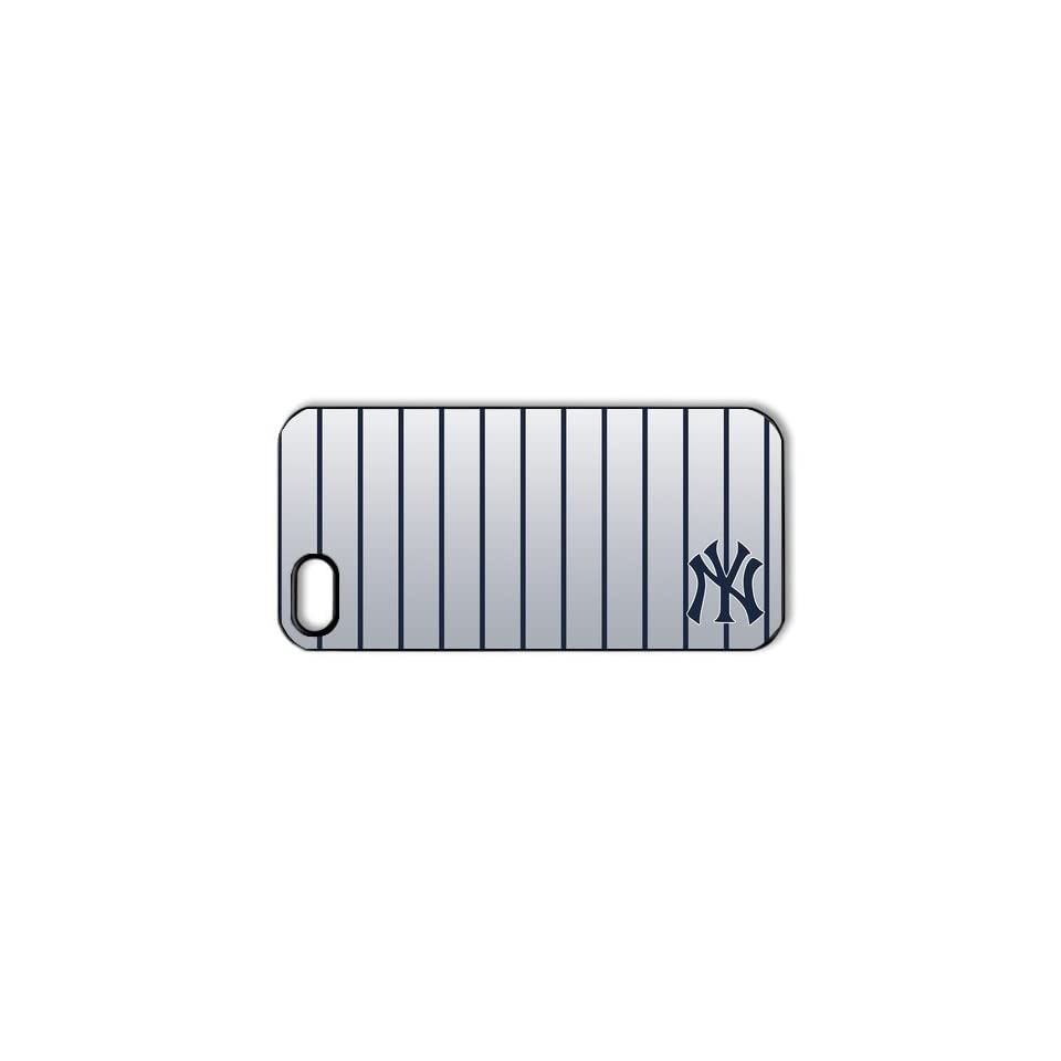 DIYCase Cool MLB Series New York Yankees Unique Design iphone 5 Proctive Custom Case Cover   1382133 Cell Phones & Accessories