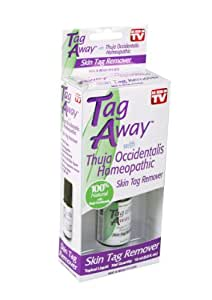 Natures Pillows Tag Away Skin Removal with Thuja Occidentalis Homeopathic 15ml (0.5 fl. oz.)
