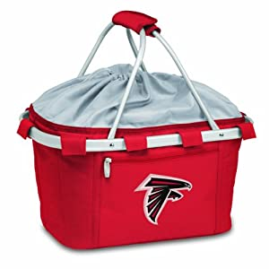 NFL Atlanta Falcons Metro Insulated Basket , Red by Picnic Time