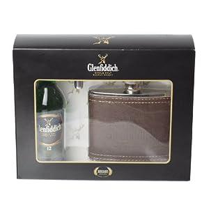 Glenfiddich 12 year old Single Malt Whisky & Hipflask Gift