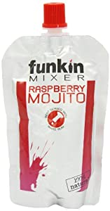 Funkin Raspberry Mojito Cocktail Mixer 120 g (Pack of 8)