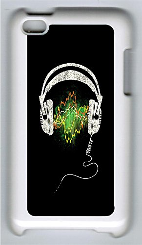 Ipod 4Case Headphones Pc Custom Ipod 4Case Cover White