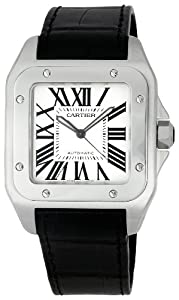 Cartier Men's W20073X8-Blue Santos 100 XL Automatic Watch