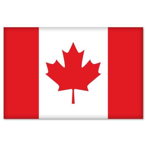 Canadian Flag car bumper sticker
